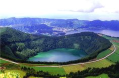 São Miguel is the largest island of the archipelago, with 744 km ², and most populated. Photo © ATA