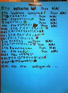 S o f i a' s K i n d e r g a r t e n: Μαθαίνουμε για την ΔΙΑΤΡΟΦΗ μας στο νηπιαγωγείο Math Equations, Blog, Marriage, Blogging