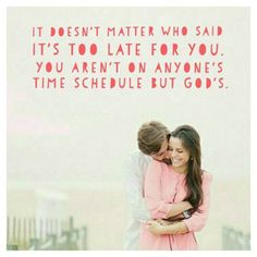Gods is always on time
