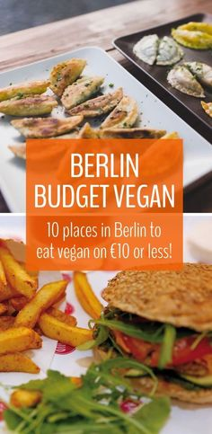 Looking for the best Berlin vegan restaurants where you can eat on a traveller's budget? Here's our guide to our favourite budget Berlin vegan food! Travel tips for food in Europe.