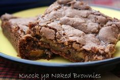 Incredibly Magnificent Knock-Ya-Naked Brownie Bars! – The Baking Bit