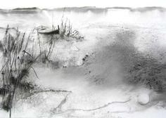 Alluvions - Painting,  90x120 cm ©2004 par Reine-Marie PiNCHON -  Peinture