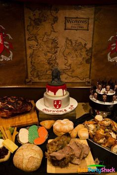 Game of thrones  Birthday Party Ideas | Photo 1 of 26