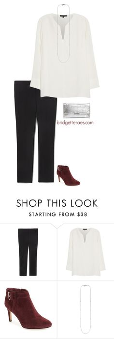 """""""basics"""" by bridgetteraes ❤ liked on Polyvore featuring Lafayette 148 New York, Vince Camuto and Loeffler Randall"""