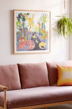 Camilla Perkins Jungle Art Print | Urban Outfitters