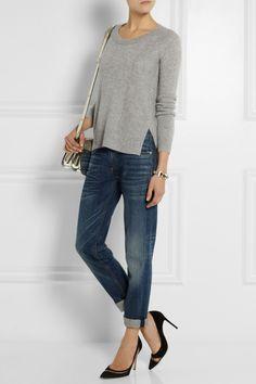 Diane von Furstenberg|Cashmere sweater|NET-A-PORTER.COM