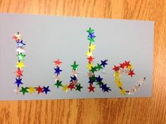 Name Activity. Great idea for JK name practice in September.