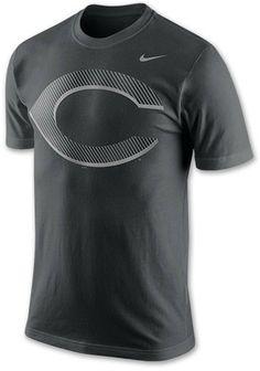 official photos a8813 28eb2 Nike Men s Cincinnati Reds MLB Pattern Logo T-Shirt on shopstyle.com