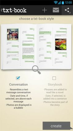 Text Now, Book Later - Make a Book From Your Text Messages as Seen on Channel One News! www.txt-book.com