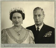 Queen Elizabeth and King George VI by Dorothy Wilding