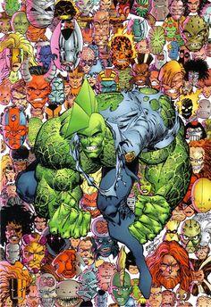 Savage Dragon by Erik Larsen Comic Book Covers, Comic Books Art, Comic Art, Dragon Comic, Savage Dragon, Fantasy Posters, Alternative Comics, Graphic Novel Art, Free Comics