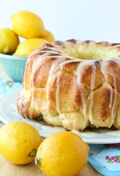 Lemon Monkey Bread: