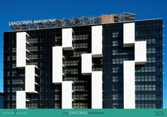 hotel diagonal barcelona FACHADA