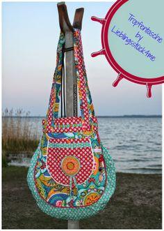 Taschenspieler II Sew Along - Tropfentasche Sewing Hacks, Straw Bag, Pattern, Bags, Scrappy Quilts, Bags Sewing, Handbags, Projects, Breien