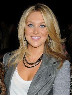 Stephanie Pratts long layered hairstyle