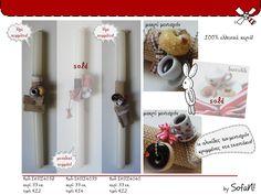 ! ♥ SofaN handmade: Όλες οι χειροποίητες πασχαλινές λαμπάδες - 2014! - λαμπαδες πασχαλινες - Easter candles