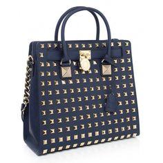 Women's Michael Kors Hamilton Stud Tote Bag ($550) ❤ liked on Polyvore