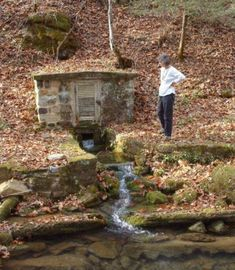 Karst Springs - Part 1 spring house (a kind of root cellar)