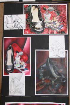 S4 DEVELOPMENT SHEET Sketchbook Layout, Gcse Art Sketchbook, Sketchbook Inspiration, High School Art Projects, Expressive Art, A Level Art, Ap Art, High Art, Art Classroom