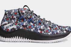 quality design 4e22b 5f83b Damian Lillards Summer Basketball Camp Inspires This adidas Dame 4 adidas  Basketball has just dropped a