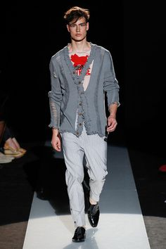 Vivienne Westwood Spring 2015 Menswear Collection Slideshow on Style.com