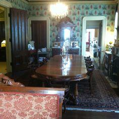 The formal Dining Room at Garth Woodside Mansion