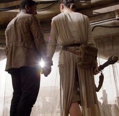 John Boyega & Daisy Ridley