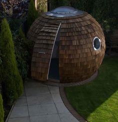 Unique garden shed design