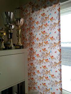 kids room new curtain