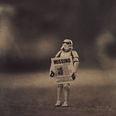 Love this stormtrooper photo shoot