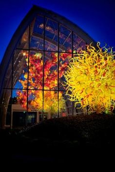 Dale Chihuly's glass art museum in Seattle. Can't wait to see it