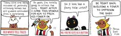 Breaking Cat News by Georgia Dunn for Jul 20, 2017 | Read Comic Strips at GoComics.com