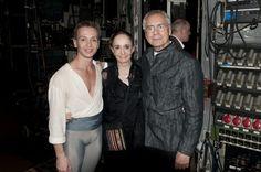 Marcia Haydée answers the Gramilano Questionnaire… Dancers' Edition - Luis Ortigoza, Marcia Haydée and John Neumeier