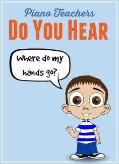 """Solve the """"Where Do My Hands Go?"""" problem with this printable for piano students"""