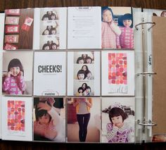 From Paisleepress.com - never really thought about using photo album inserts to make a scrapbook. Love it!  Next project for sure.