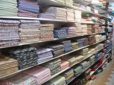 Welcome To Shaukat - Shaukat, The Largest Stockist of Liberty Cotton Fabric in London. Would love to visit here one day. Liberty Quilt, Liberty Fabric, Sewing Hacks, Sewing Crafts, Sewing Projects, Heirloom Sewing, Liberty Of London, Craft Shop, Fabric Shop