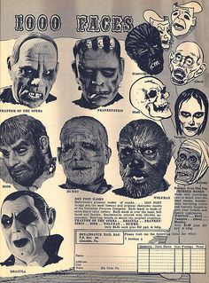 Vintage Monster Magazine Ad 08