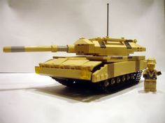 Tank made out of legos!