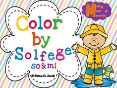 Color by solfege