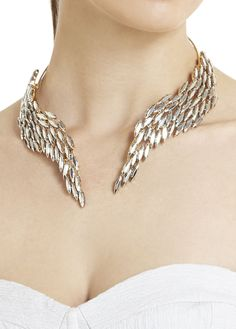 Wings choker ...now go forth and share that BOW  DIAMOND style ppl! Lol. ;-) xx