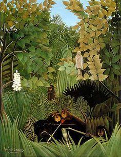 Henri Rousseau | The Merry Jesters, 1906 | Philadelphia Museum of Art