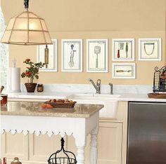 life {illustrated}: Ballard Inspired Kitchen Art