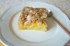 recette sans gluten de gâteau pêche et amande - gluten free peach and almond cake