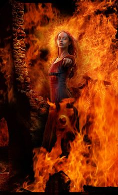 Fire is a living element, without it Mother Earth would not stay together. Sumayah will have to learn to control the elements in her priestess training. www.denicegarrou-dragonhorse.com