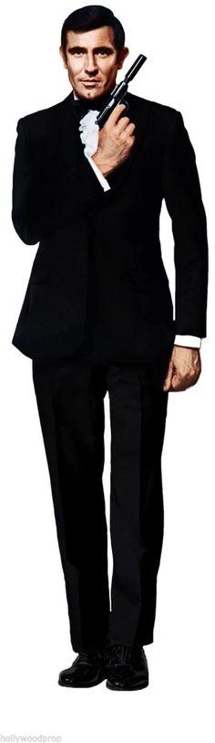 George Lazenby James Bond 007 Lifesize Cardboard Standup Standee ...