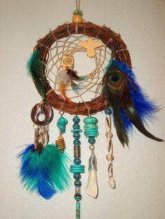 Native American Chippewa Dream Catcher by extravagantdesigns