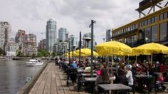 i know, I know, it's crowded, it's touristy but it's classic gotta include bridges at Granville Island Vancouver Seattle, Granville Island, New York Skyline, Places To Go, Street View, Canada, Vacation, City, World
