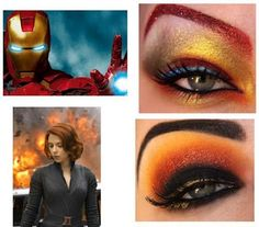 Avengers : Eye Makeup Ideas & Styles <3 | eyemakeupstyles.blogspot.com/2012/04/avengers-eye-makeup-styles.html