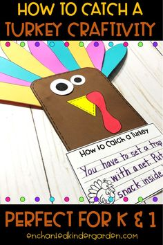 Easy Turkey Activity for Kindergarten – Enchanted Kinder Garden
