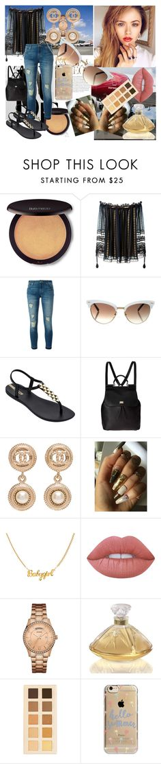 """""""There Is No Limit To How High Love Flies"""" by magnoliarose23 ❤ liked on Polyvore featuring Laura Mercier, Chloé, MICHAEL Michael Kors, Envi:, Gucci, IPANEMA, Dolce&Gabbana, Chanel, Lime Crime and GUESS"""